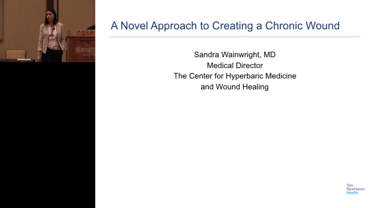 A Novel Approach to Creating a Chronic Wound