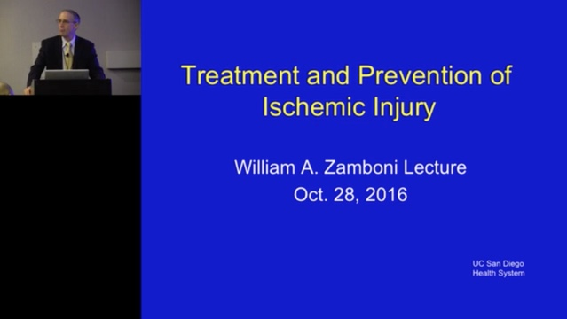 Treatment and Prevention of Ischemic Injury, by George Perdrizet, MD