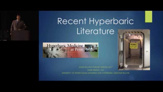 New Pearls of Wisdom in the Diving and Hyperbaric Medicine Literature 2017, by Mark Binkley, MD/Daniel Popa, MD