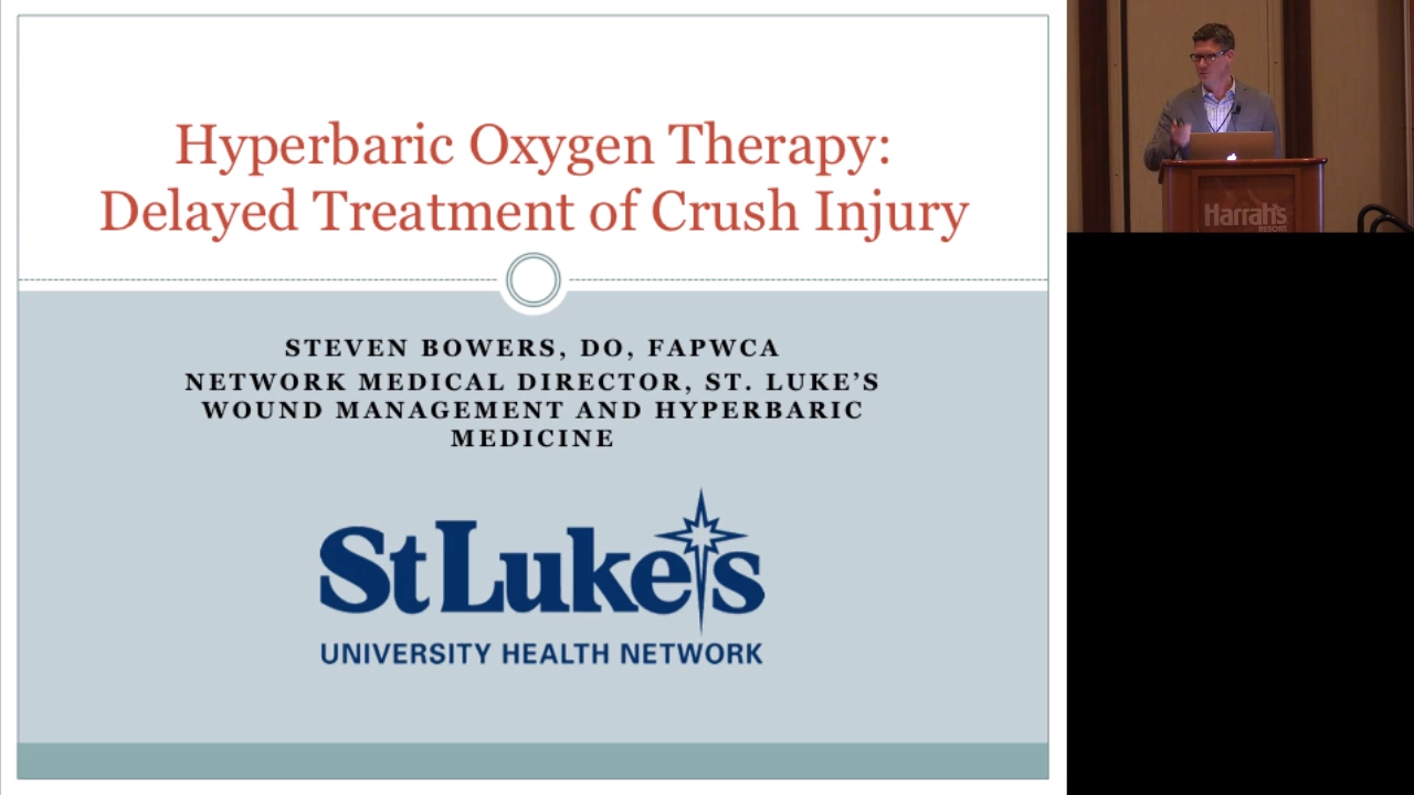 Hyperbaric Oxygen Therapy: Delayed Treatment of Crush Injury